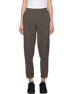SSENSE Exclusive Brown Terry Beachwood Lounge Pants