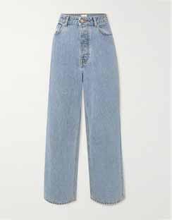 + NET SUSTAIN High-rise Wide-leg Jeans
