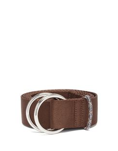 Double-ring Canvas Belt