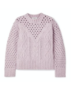 Cora Cable-knit Sweater