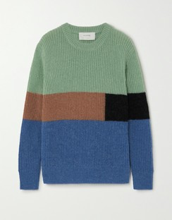 Emil Color-block Knitted Sweater