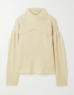 Korina Layered Ribbed-knit Sweater