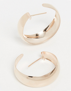 10k Dome Hoop Earrings