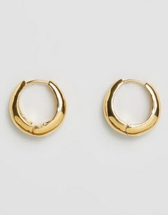 The Marbella Gold Hoop Earrings