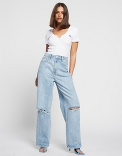 High Baggy Jeans