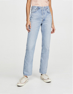 Lana Low Rise Vintage Straight Jeans