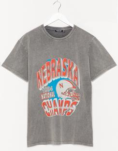 Nebraska Champs Relaxed Graphic Tee