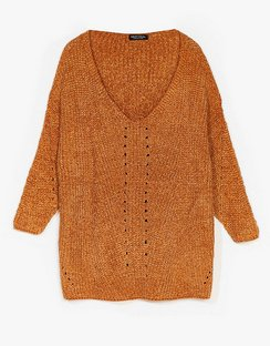 Luxe Good to Us Plus Knit Jumper