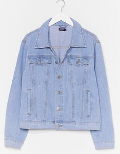 Seam It All Plus Denim Jacket