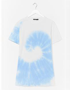 You're a Swirlwind Baby Tie Dye Plus Tee