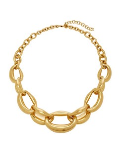 Bold Chain Link Aluminum Necklace