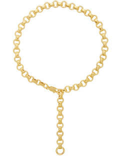 Gold Franca Chain Necklace