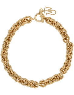 Gold Pendant Curb Choke