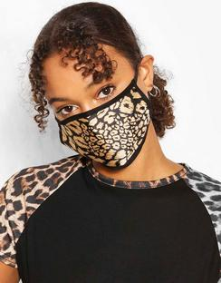 Leopard Fashion Face Mask