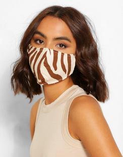 Zebra Fashion Face Mask