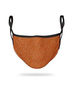 Orange Leaf Adults Adjustable 3 layer Face Mask