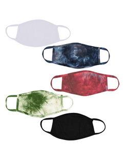 5-Pack Adult Face Masks