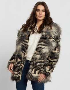 Tiahna Faux Fur Jacket