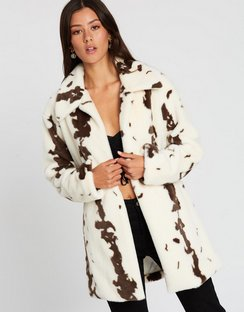 Cinnamon Girl Fur Jacket