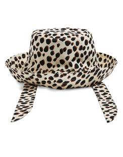 Dalmatian Spot Tie Strap Bucket Hat