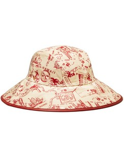 Printed PVC Bucket Hat