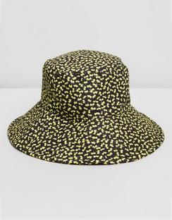Quilt Floral Bucket Hat