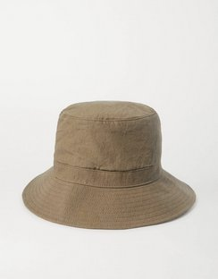 + Space For Giants Linen Bucket Hat