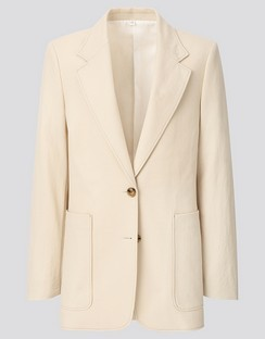 W's U jersey tailored jacket