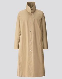 W's U light long coat