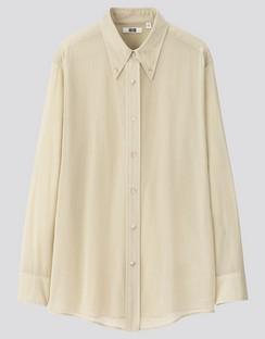 W's U button down L/S shirt