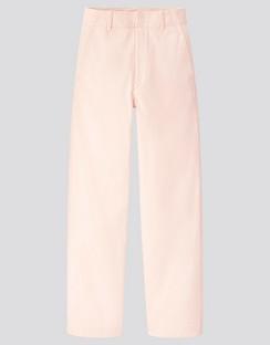 W's U wide fit curved pants