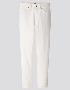 W's U slim tapered ankle jeans