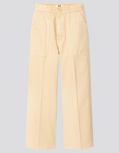 W's U denim relaxed ankle pants