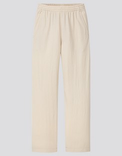 W's U twill jersey relaxed pants