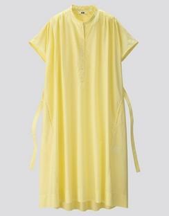 W's U parachute S/S shirt dress