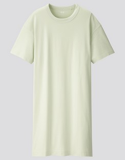 W's U Crew neck dress