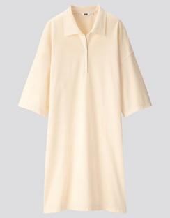 W's U polo half sleeve dress