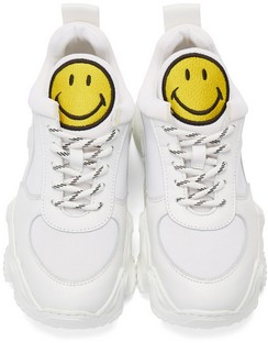 White Smiley Edition Donna Sneakers