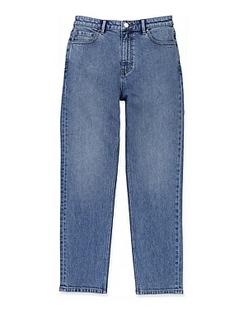 Australian Cotton High Rise Straight Jean