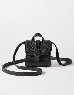 Milli Maestra Textured-leather Shoulder Bag
