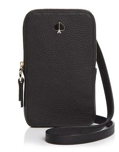 Polly Leather Phone Crossbody