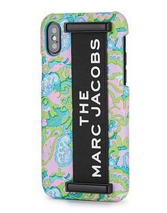 Paisley-print iPhone XS Case