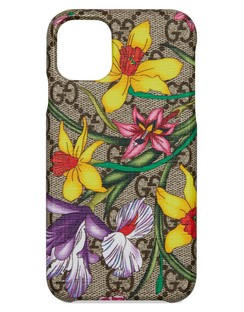 Ophidia Floral GG Supreme iPhone 11 Case