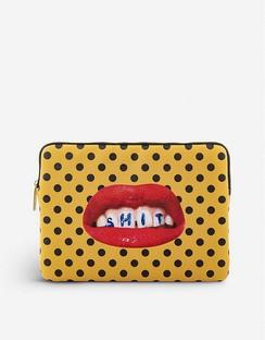"""Mouth-print 13"""" Canvas Laptop Case 34cm x 25cm"""