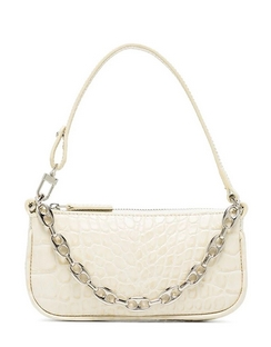 Mini Rachel Crocodile Effect Shoulder Bag