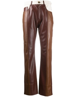 Vinni vegan leather trousers