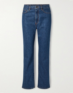 Christie High-rise Straight-leg Jeans