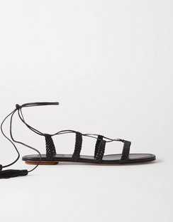 Stromboli Braided Leather Sandals