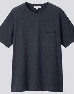 JWA Cotton Linen Short Sleeve T-shirt