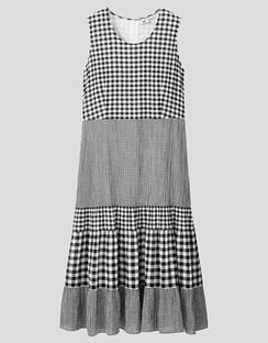 JWA Tiered Sleeveless Dress